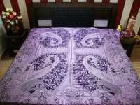 Silk Wool Bed Sheet Fabric
