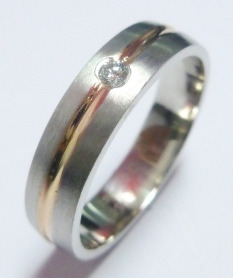 Platinum Fusion Ring