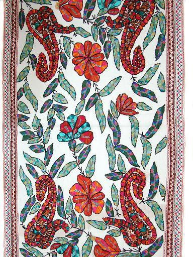 Ari Embroidery Wool Shawls