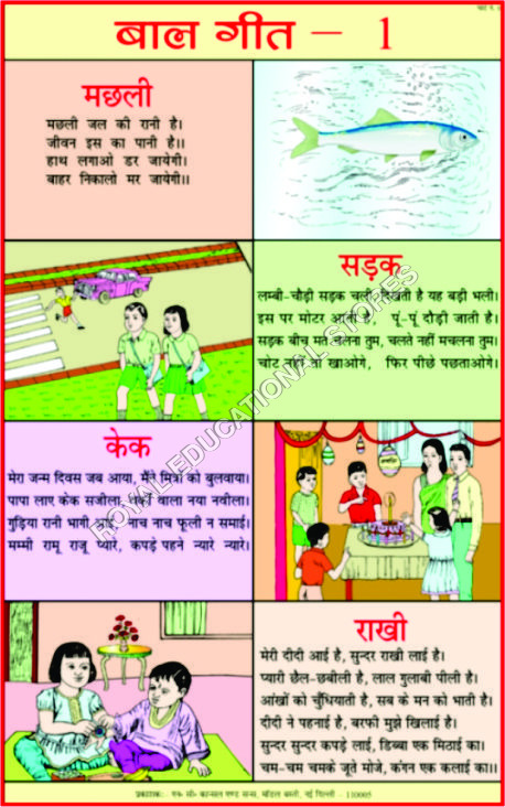CHARTS-HINDI TEACHING