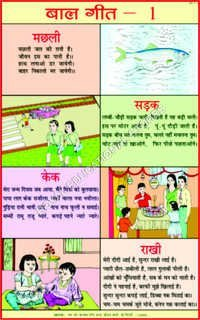 CHARTS-HINDI TEACHING