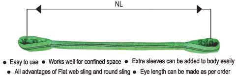 Eye and Eye Round Slings