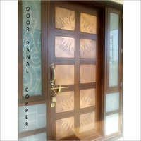 Copper Panal Door