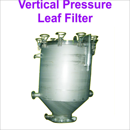 Vertical Metal Leaf Filter