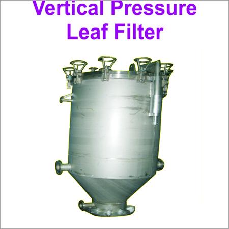 Vertical Metal Leaf Filter
