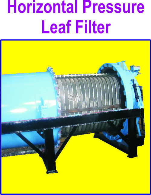 Horizontal Metal Leaf Filter