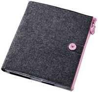 Elecom TB-A11MCFBK Felt Case for iPad2 (Black)