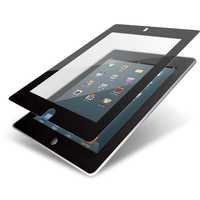 Elecom TB-A12FLBC iPad 2012 Oily Skin Resistant Zero-Bubble Protective Film (Black)