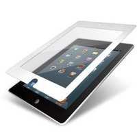 Elecom TB-A12FLBCWH iPad 2012 Oily Skin Resistant Zero-Bubble Protective Film (White)