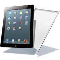 Elecom TB-A12PVSV Shell Cover for iPad 2012 (Silver)