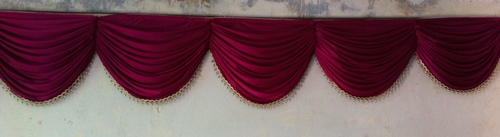 Red Wedding Valances