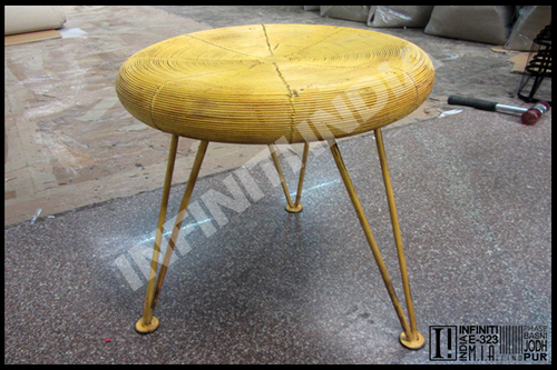 Industrial Retro Wire Framed Stool