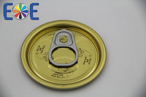 Yemen 202 tinplate easy open can lids direct from supplier