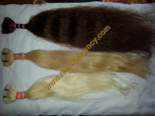 Coloring Indian Human Hair