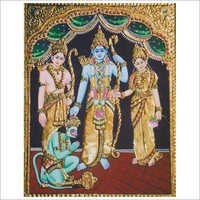 Kothanda Ramar Tanjore Paintings