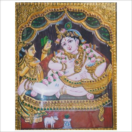 Sri Krishna Tanjore Paintings