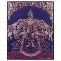 Sri Lakshmi Tanjore Paintings