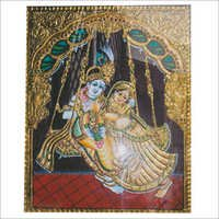 Radha Krishna Tanjore Paintings