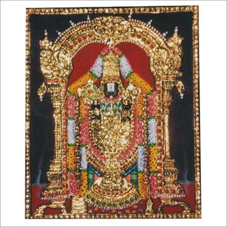 Sri Venkatachalapathy Tanjore Paintings