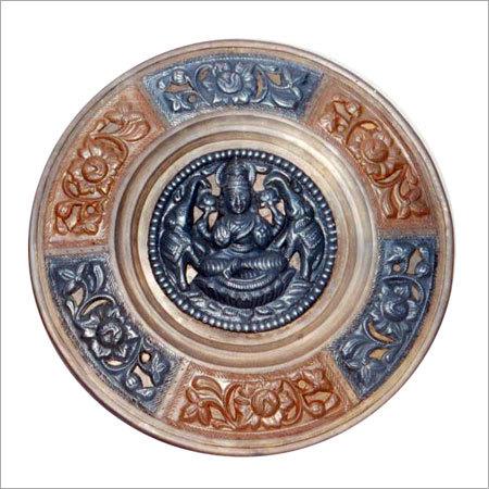 Lakshmi Thanjavur Art Plate