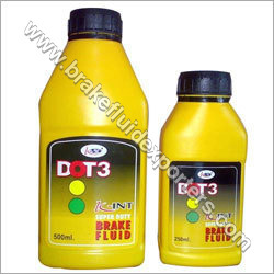 Automotive Brake Fluid Dot 3