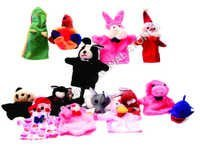 HAND PUPPETS-BIRDS & ANIMALS