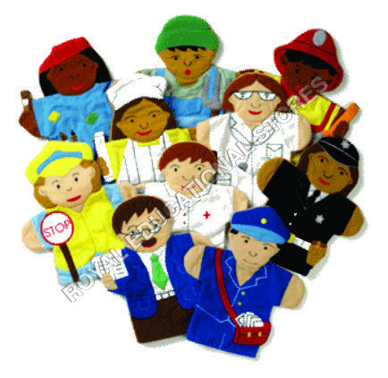 HAND PUPPETS-HELPERS