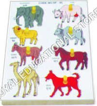 INSERT TRAY PUZZLE-DOMESTIC ANIMALS
