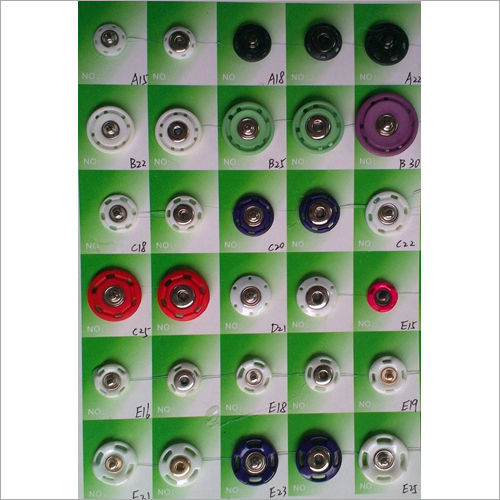 Sew-on Snap Buttons
