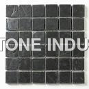 Black Slate Stone Mosaic Tile