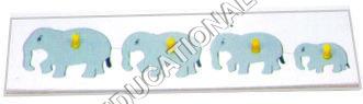 INSERT TRAY PUZZLE-SERIATION-ELEPHANT
