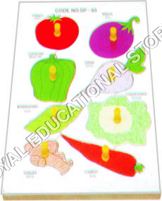 INSERT TRAY PUZZLE-VEGETABLES