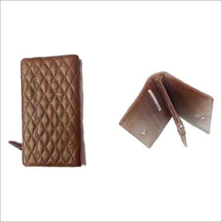 Ladies Designer Leather Wallet