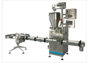 Automatic Container Filling Machine (for creams and ointments)