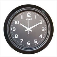 Round Black Wall Clocks