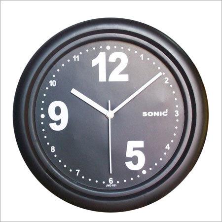 Wall Clocks Black Dial