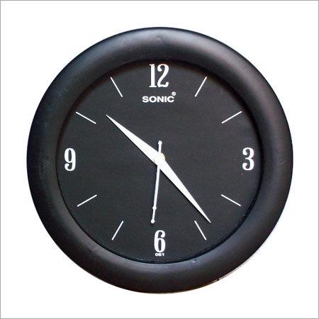 Corporate Black Wall Clocks