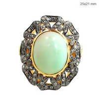 Diamond Opal Gold Ring Jewelry