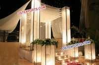 Asian Wedding Crystal Mandap