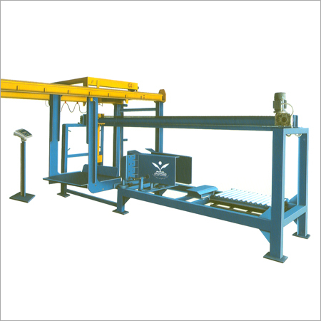 Automatic Bale Bagging and Weighing Machine