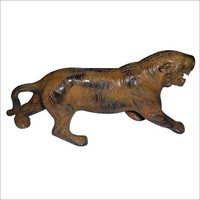 Metal Tiger Sculpture
