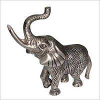 Metal Elephant Sculpture