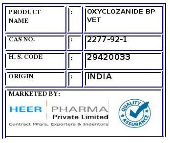 Oxyclozanide
