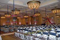 SATIN CHAIR COVERS AND SASHAS