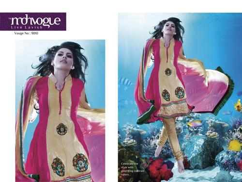 Designer Semi Stitched Salwar Suit