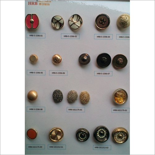 Small Shank Button