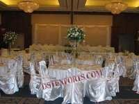 WEDDING NEW SILVER CHAIR COVER