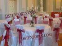 Wedding Banquet Hall Satin Chair Covers