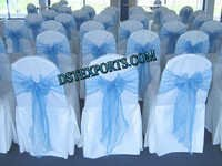 Wedding Chair Cover With Skblue Sashas