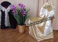 Wedding Latest Golden Chair Cover